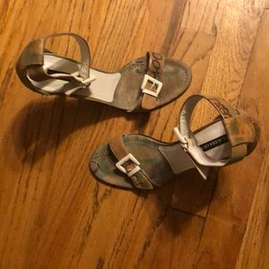 Claudia Ciuti fine leather heels sz 8 wmns 🇮🇹